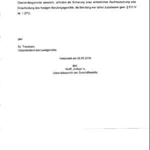 Gerichtsurteil Landgericht Deggendorf Entscheidungsgründe Seite 6