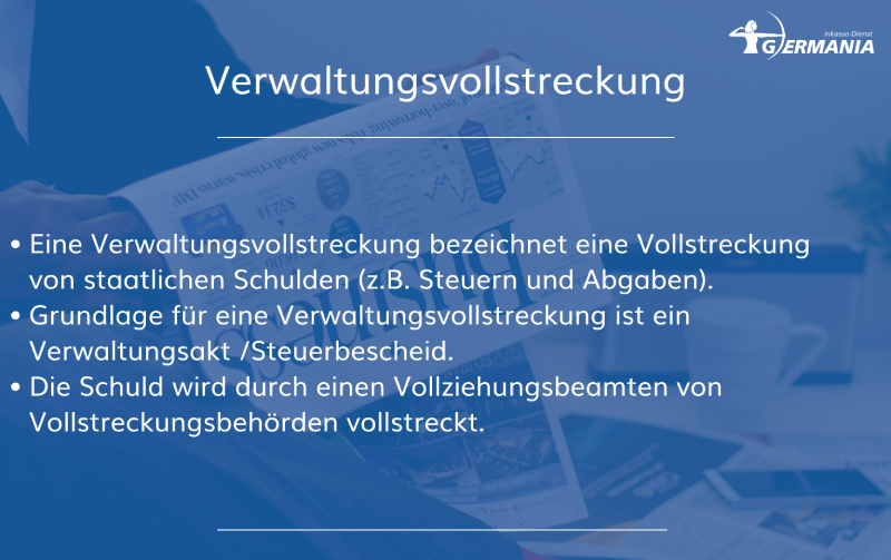 Verwaltungsvollstreckung   Germania Inkasso