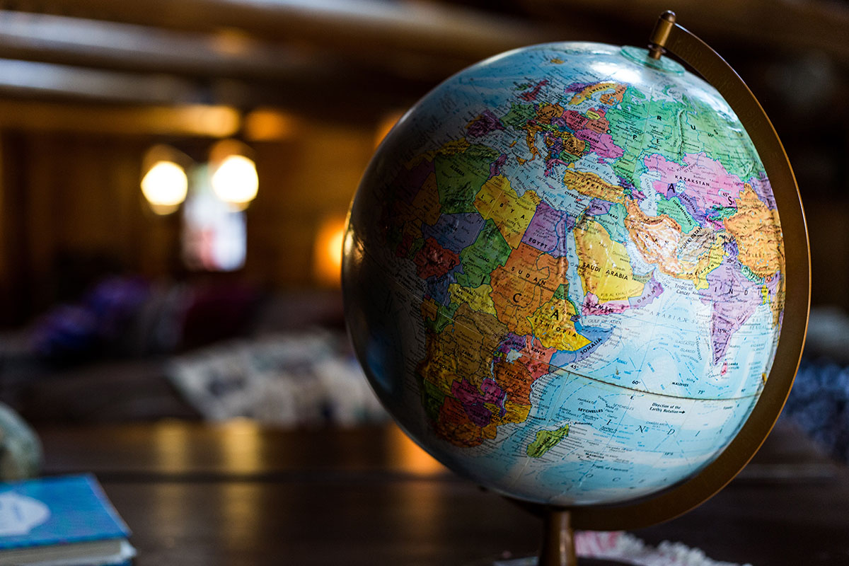 Globus Mit Weltkarte Germania Inkasso Internationales Inkasso Im Ausland
