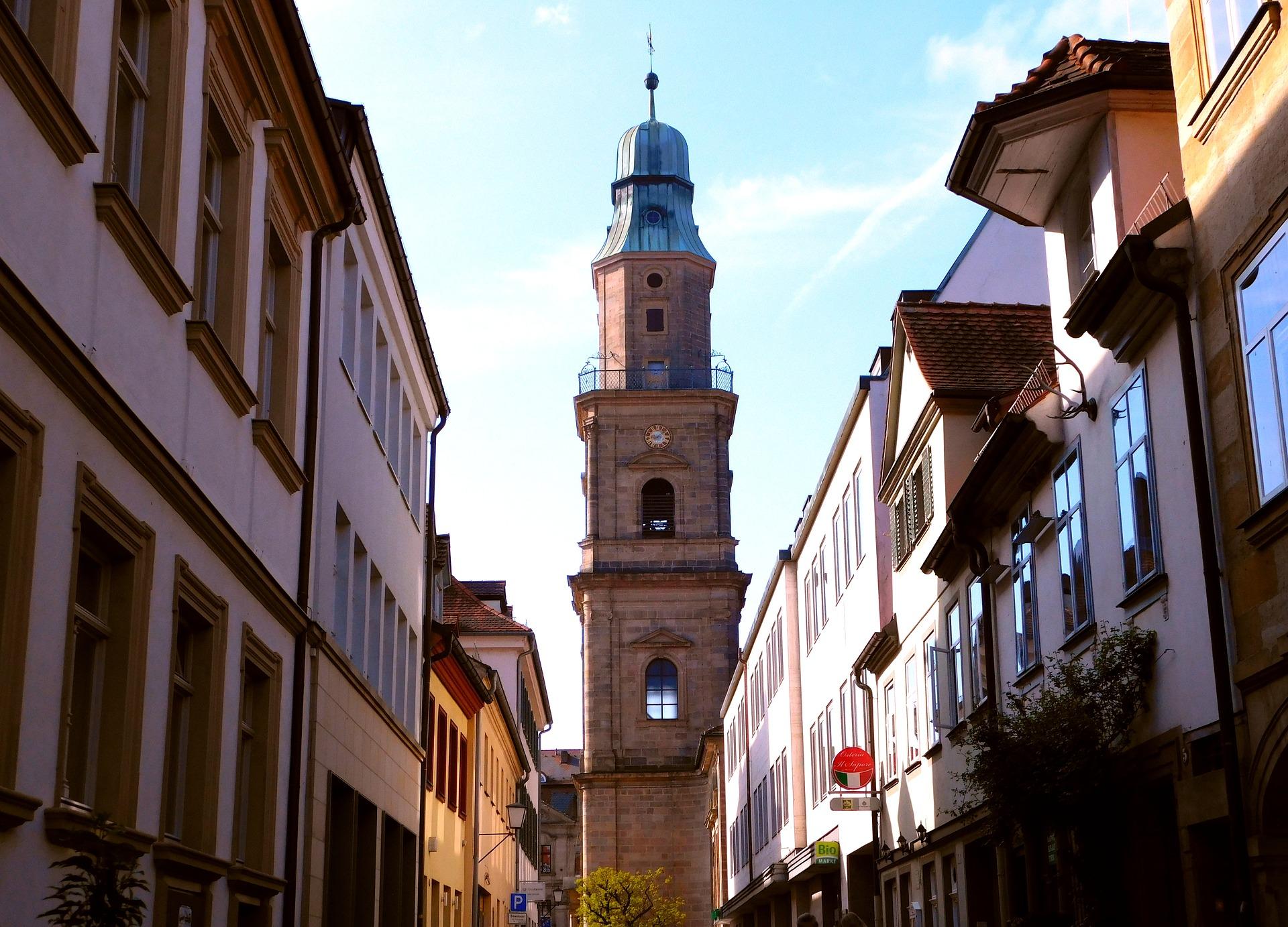 Turm In Erlangen