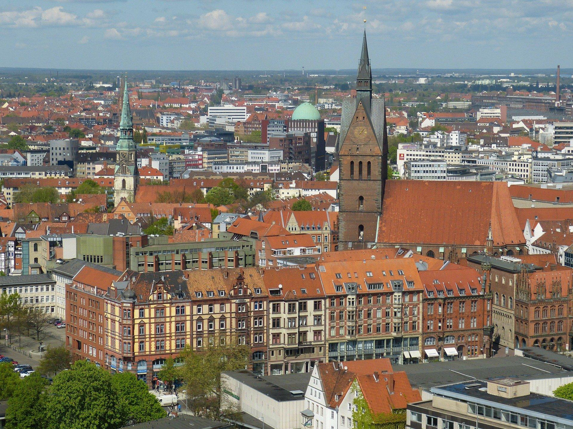 Stadtübersicht Hannover