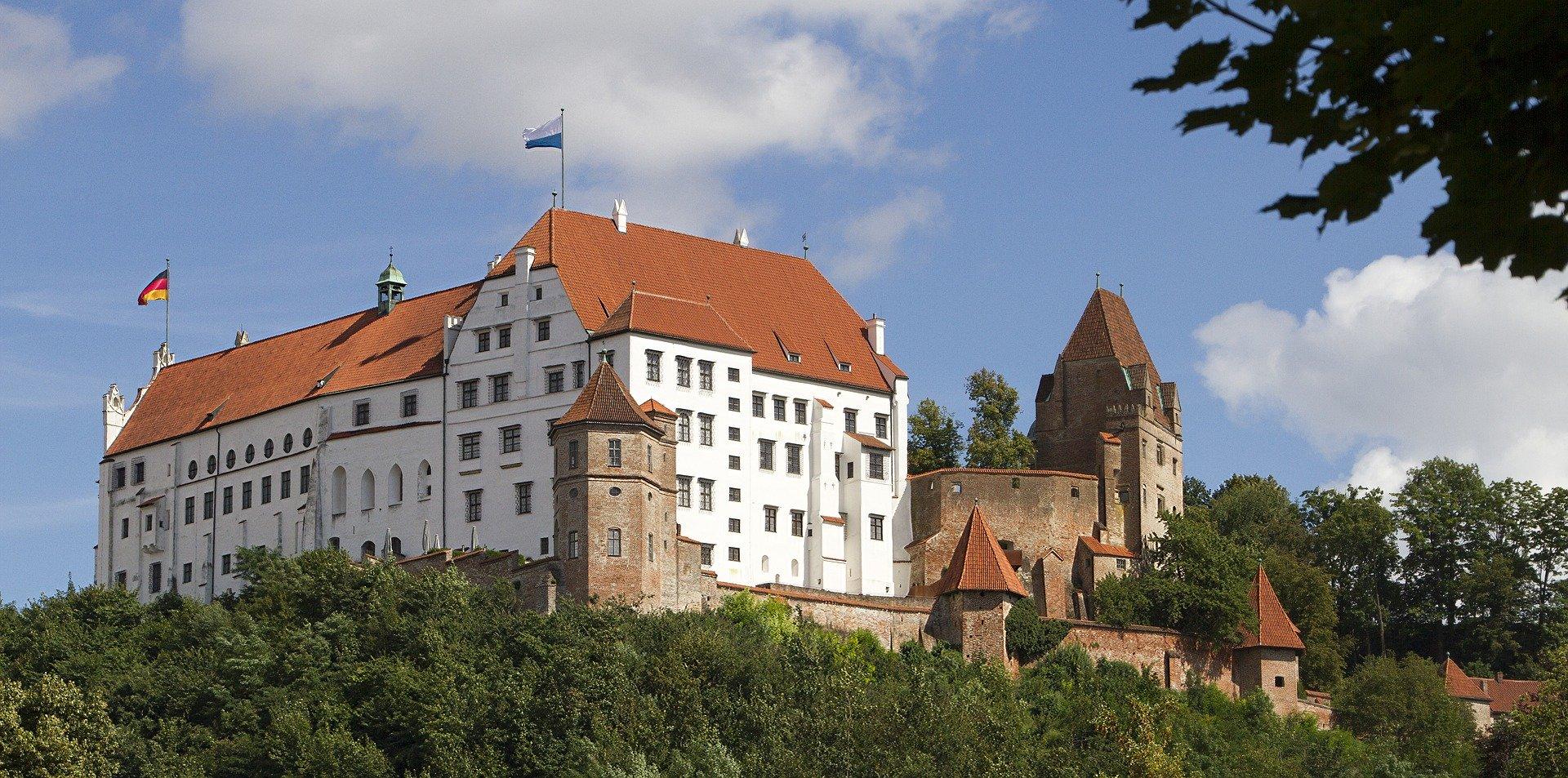 Schloss In Landshut