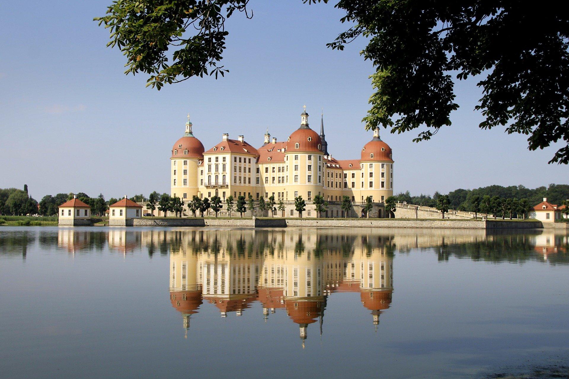 Moritzschloss In Dresden