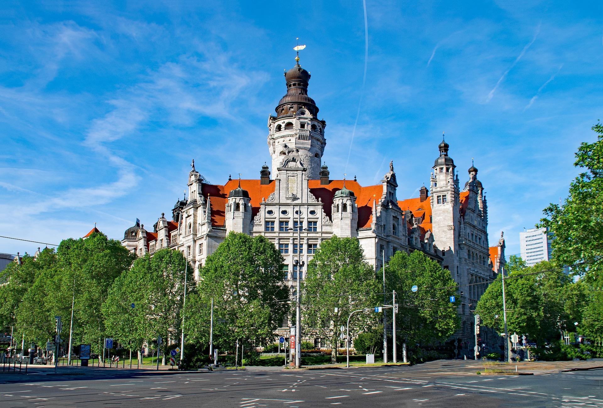 Rathaus Der Stadt Leipzig
