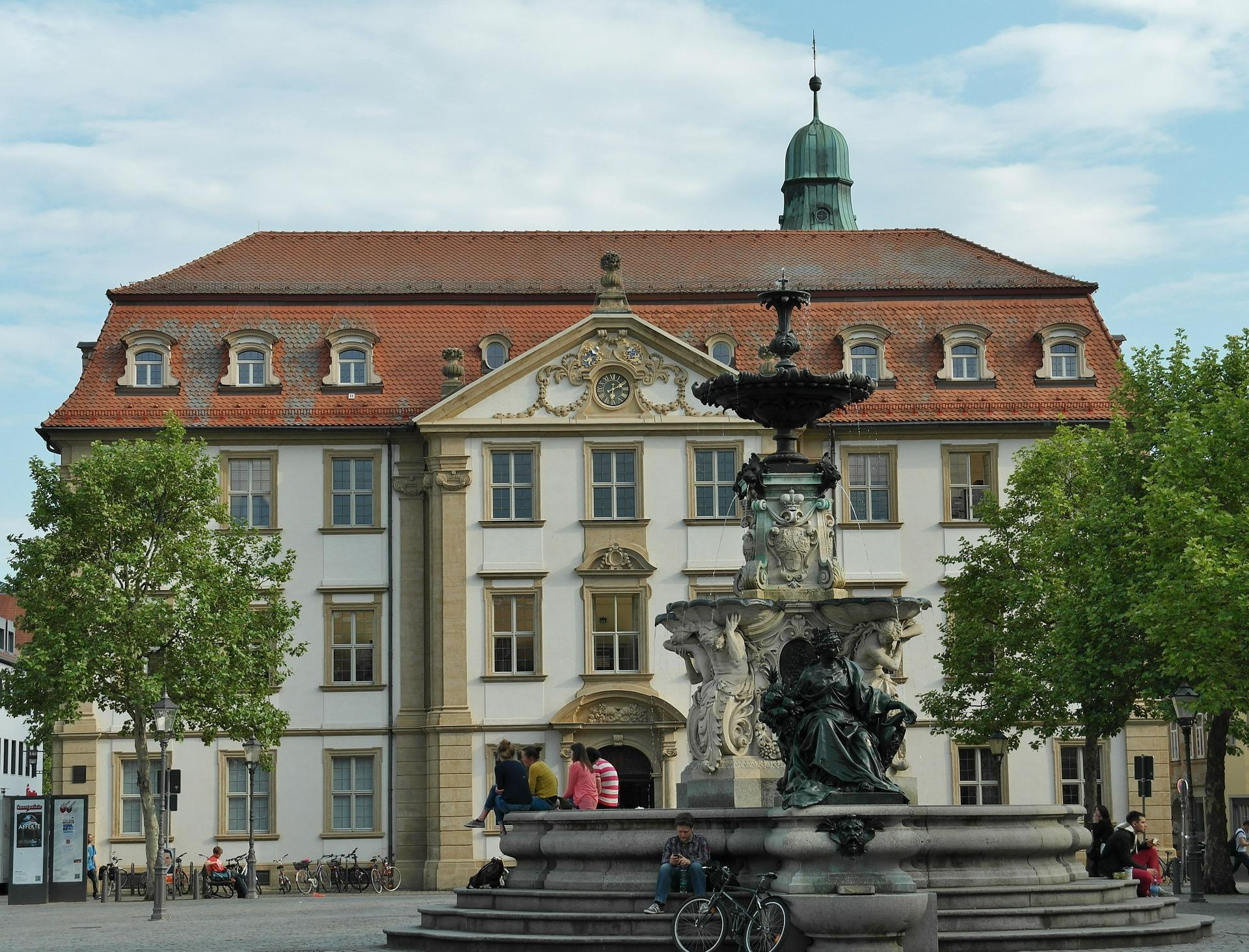 Paulibrunnen In Erlangen