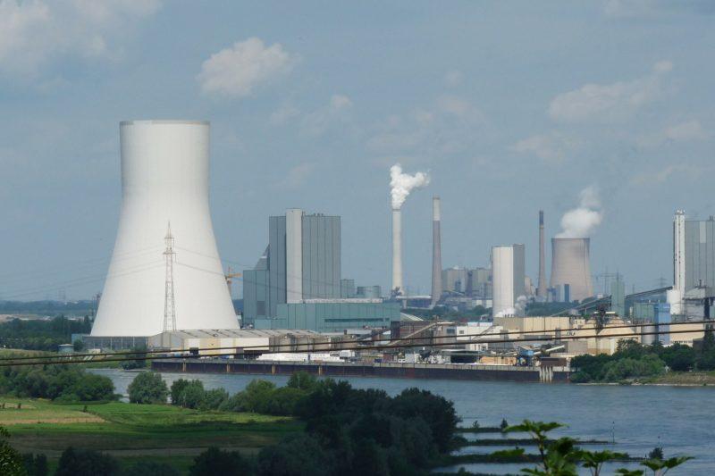 Industriegebiet In Duisburg