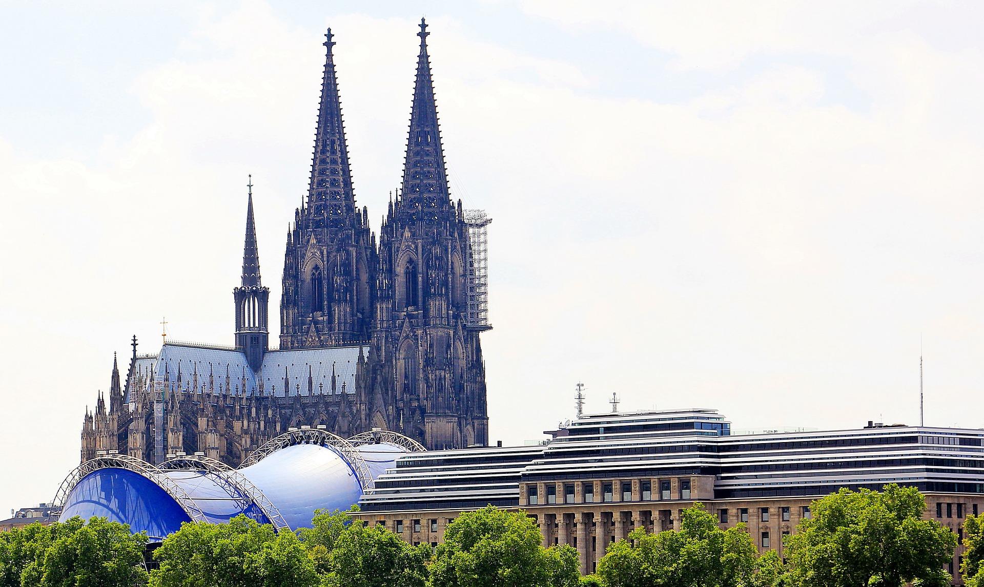 Aussicht Auf Den Kölner Dom