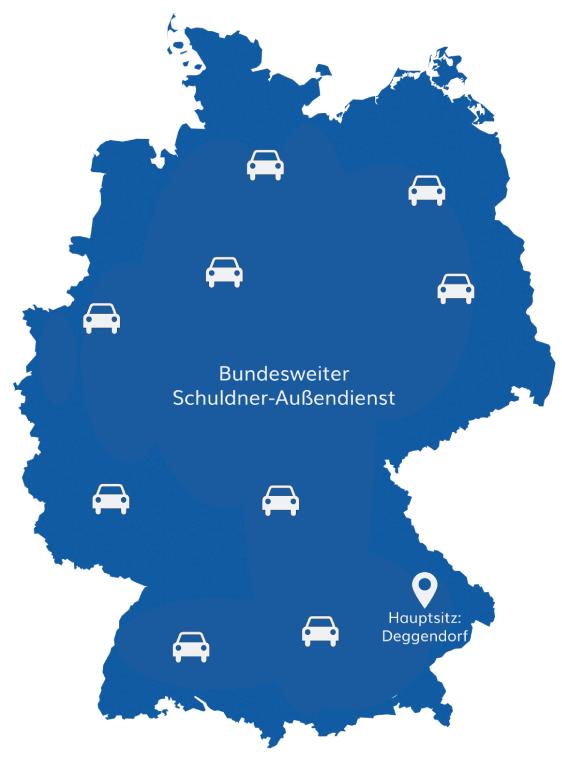 Bundesweiter Schuldner-Außendienst Mit Hauptsitz In Deggendorf | Germania Inkasso-Dienst GmbH & Co. KG